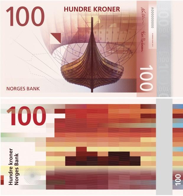 billetes Noruega