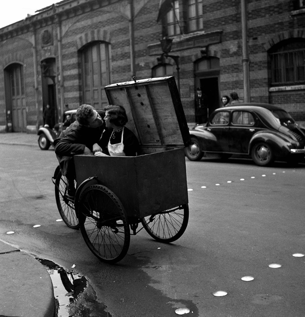 Fotografía de Doisneau