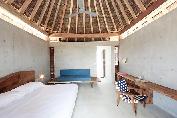 dormitorio palapa